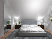 Sypialnia Skosy